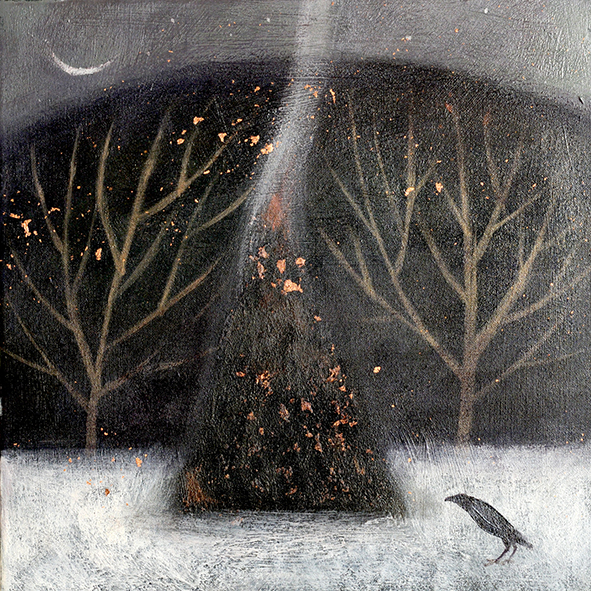 acrylic on canvas by Catherine Hyde