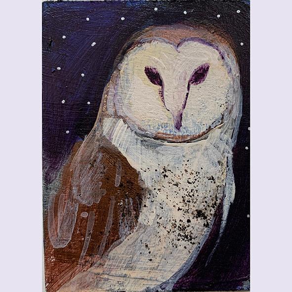 Under moonlight: painting