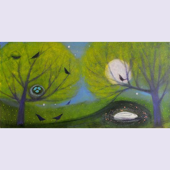 April: painting